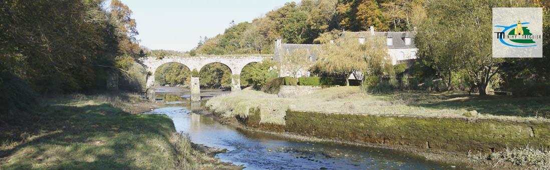 Minihy-Tréguier, aqueduc du Guindy