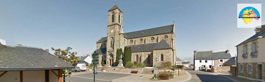 Le bourg de Pleumeur-Gautier